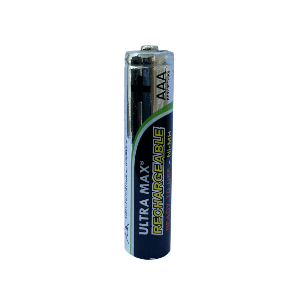 Pack Of 5 Rechargeable Solar Batteries Aaa Ni Mh 300mah
