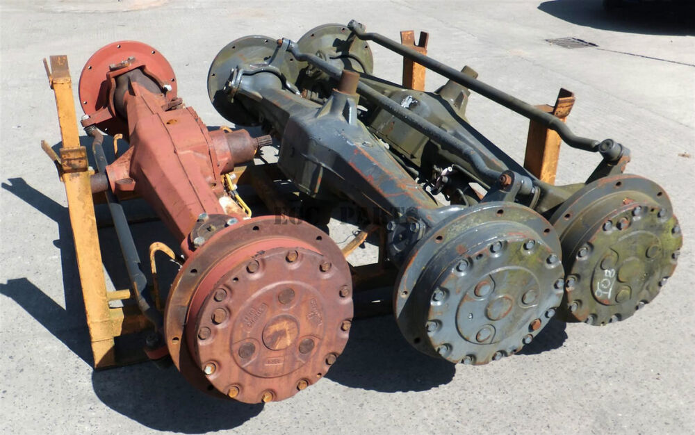 Tractor Front Axle Parts : New holland quot tm series tractor front axle assembly