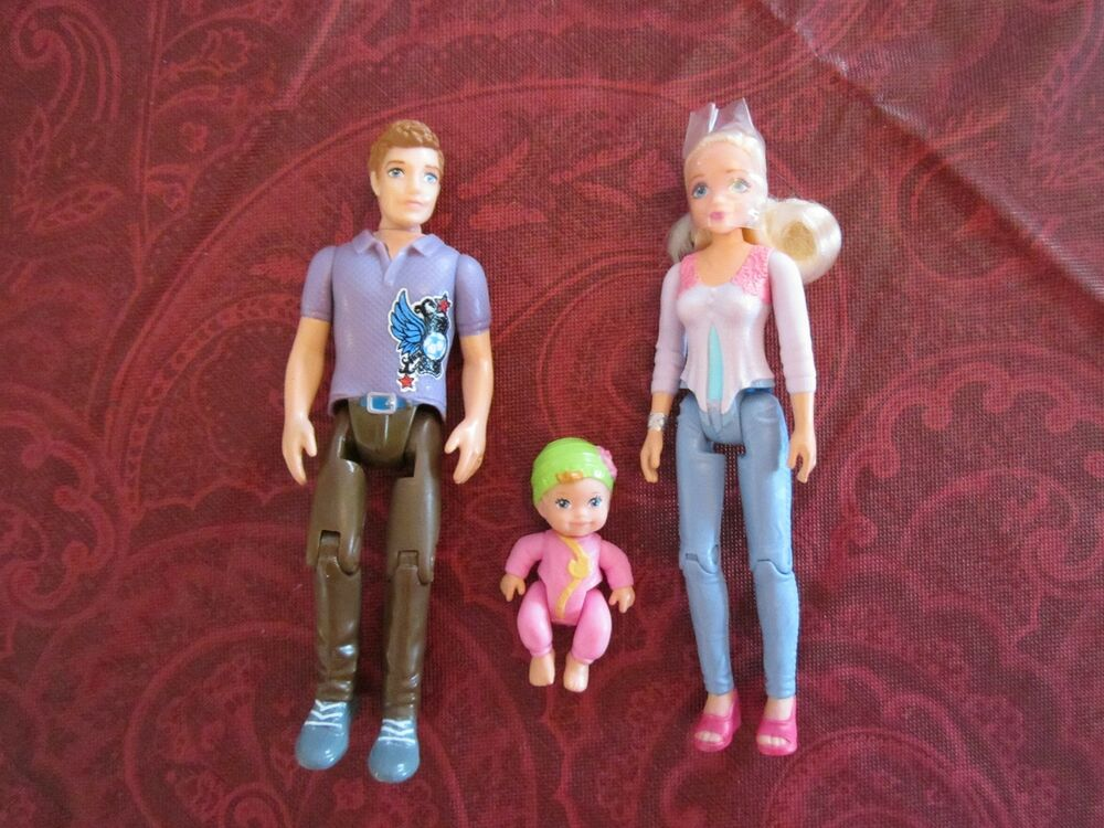 Toys For Mom And Dad : Fisher price loving family caucasian parents new mom