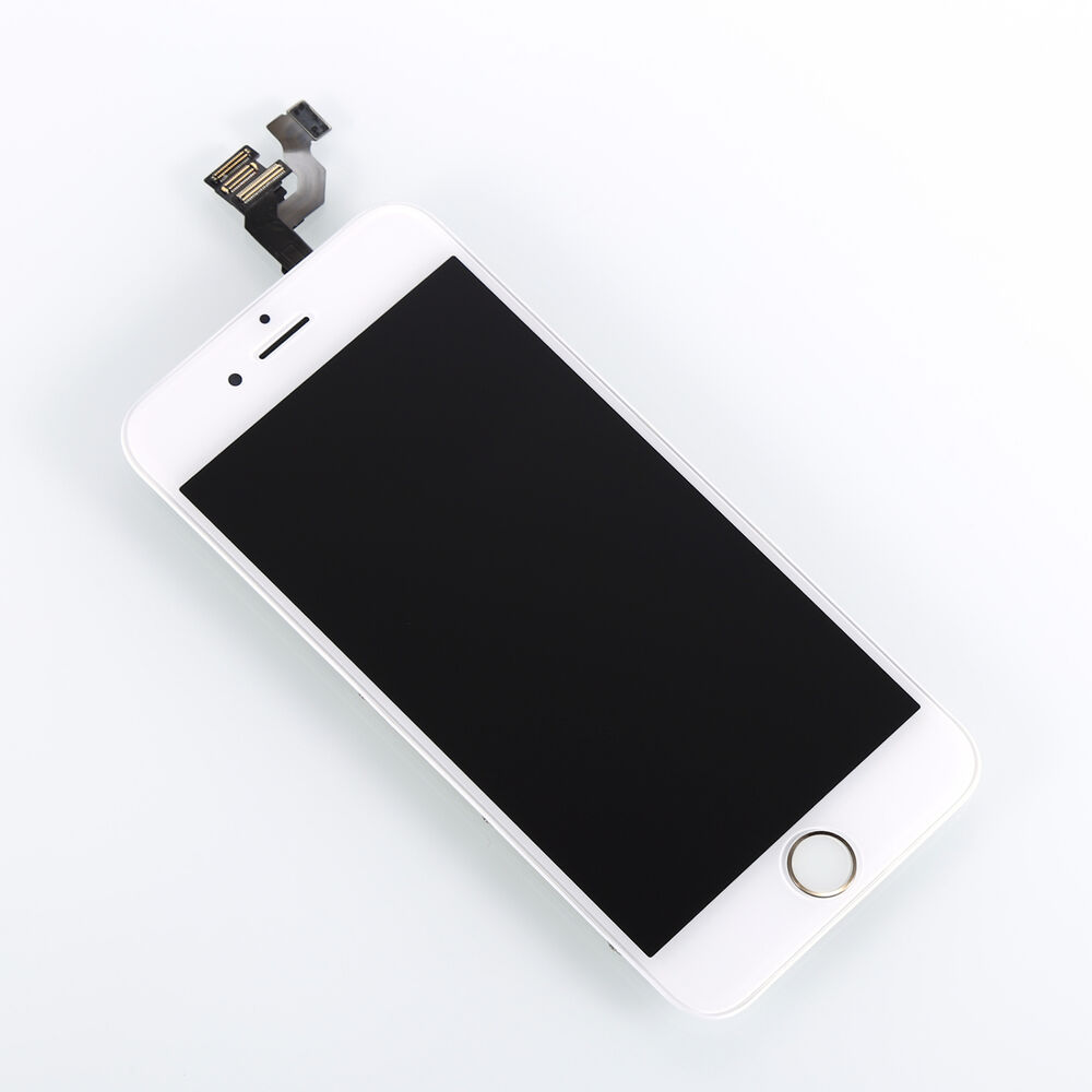full digitizer lcd assembly front camera gold home button frame for iphone 6 4 7 ebay. Black Bedroom Furniture Sets. Home Design Ideas