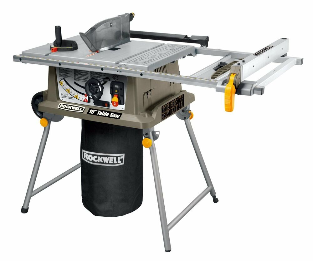 Rk7241s Rockwell 15 Amp Table Saw With Laser Ebay