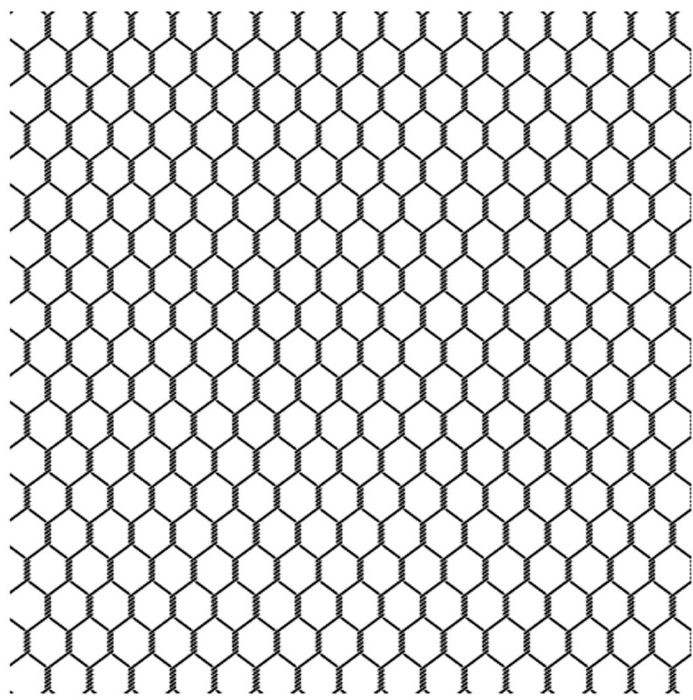 Chicken Wire Cover A Card Background Unmounted Rubber Stamp ...