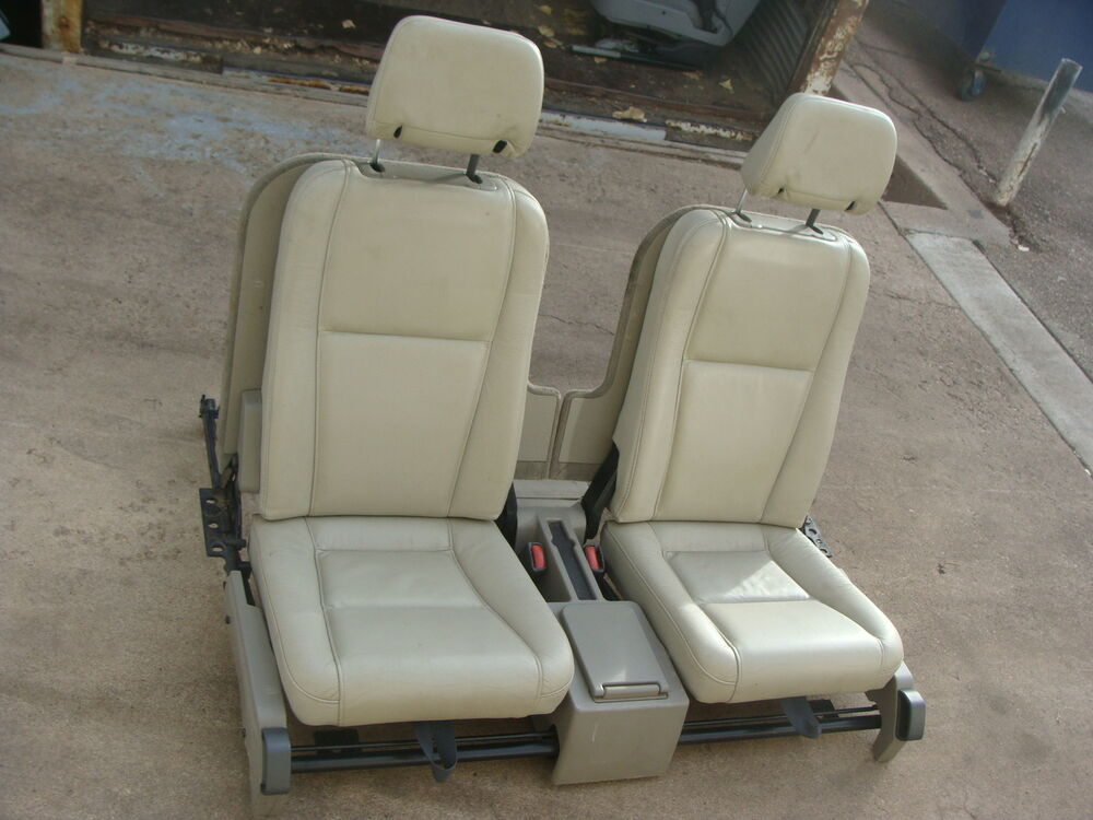 volvo xc90 2 5t third row seat tan ebay. Black Bedroom Furniture Sets. Home Design Ideas