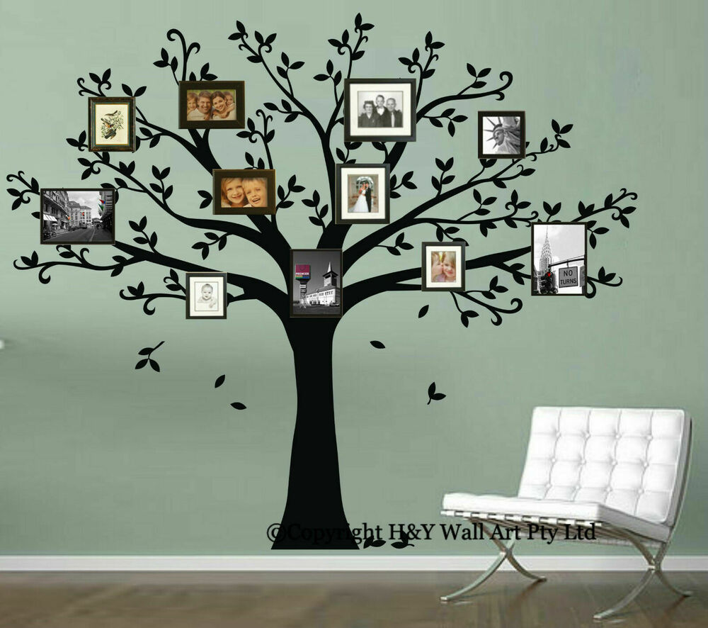 Family Tree Removable Wall Sticker Vinyl Decal Home Decor ...