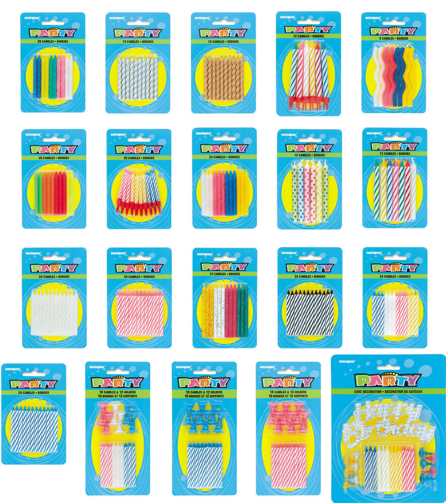 Cake Art Supplies Caringbah : Birthday Party Cake Candles Decorations Supplies Colours ...