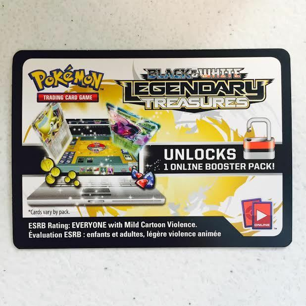 Pokemon trading card game code list