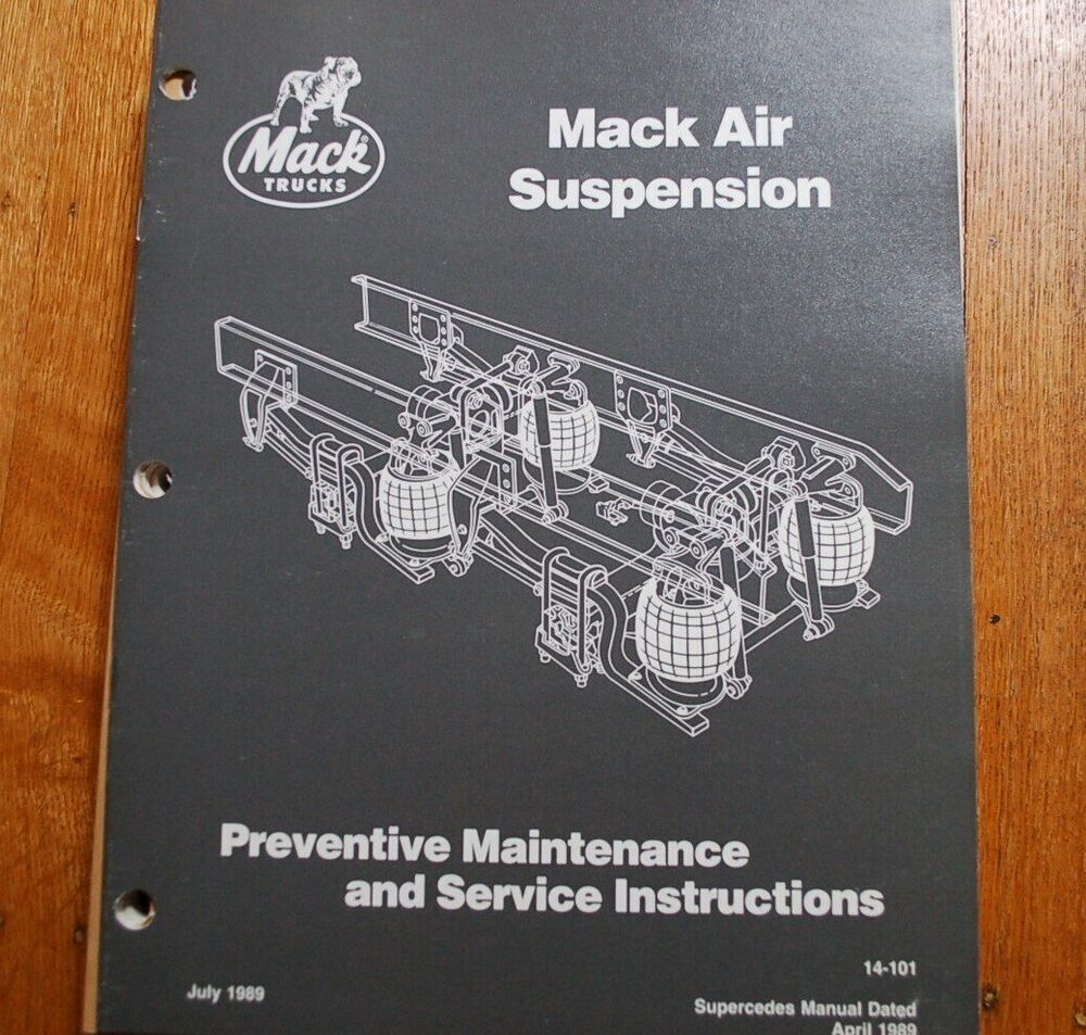 Vehicle Suspension Service Manual Guide