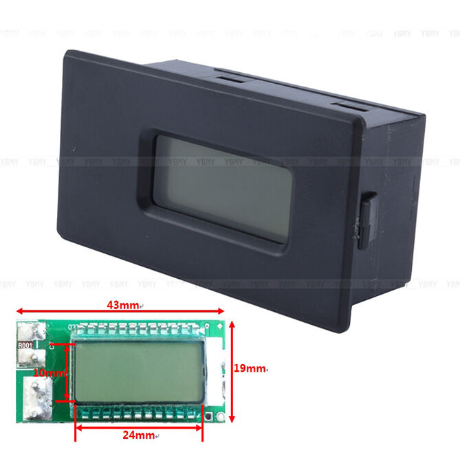 18650 26650 lithium li ion battery tester led voltage current capacity lcd meter ebay. Black Bedroom Furniture Sets. Home Design Ideas
