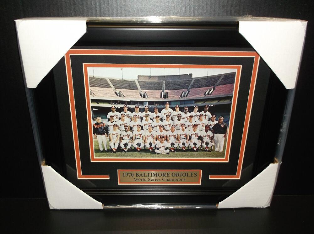 1970 Baltimore Orioles World Series Champions 8x10 Team