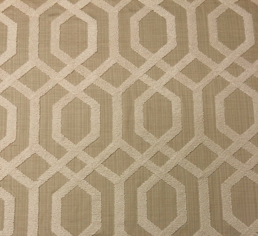 Ballard designs halyard natural embroidered lattice