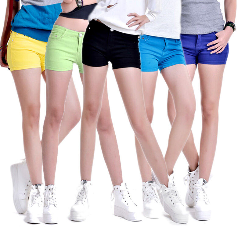 Women Candy-colored Skinny Casual Stretch Jean Denim ...