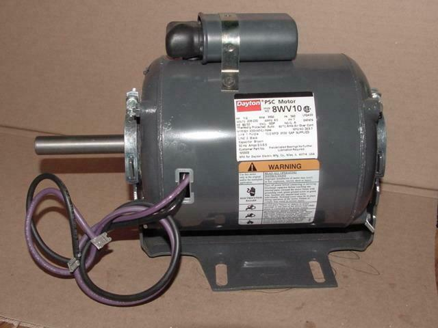 Dayton k55kxfcj 7644 8wv10 1 2 hp electric motor 208 230 for 1 2 hp ac motor