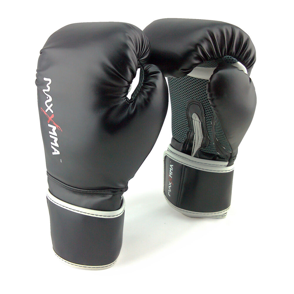 Boking Gloves: MaxxMMA Pro Style Boxing Gloves 12,14,16 Oz