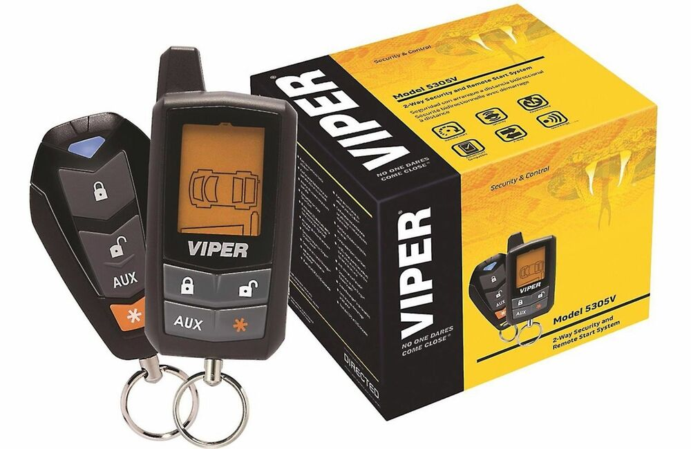 viper 5305v 2yr waranty lcd vehicle car alarm keyless entry remote start system ebay. Black Bedroom Furniture Sets. Home Design Ideas