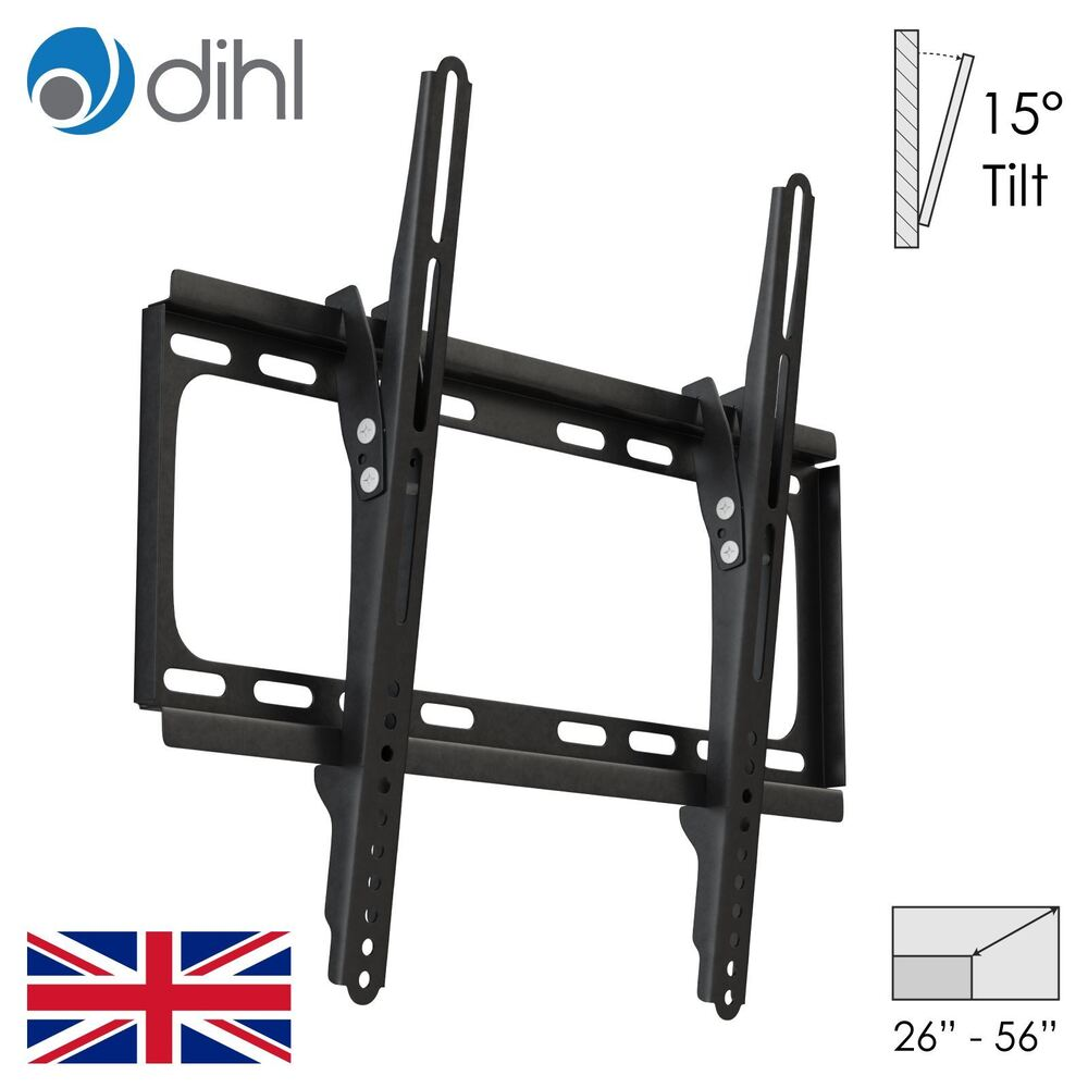 tilt down wall tv bracket mount lcd led slim 40 42 46 48