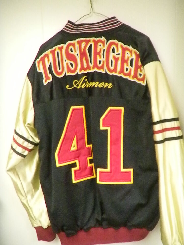 Tuskegee Airman Super Rare Reversible 2 Nylon Jackets In 1