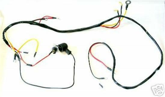 ford 601 701 801 901 2000 4000 4cyl tractor 6 volt wiring. Black Bedroom Furniture Sets. Home Design Ideas