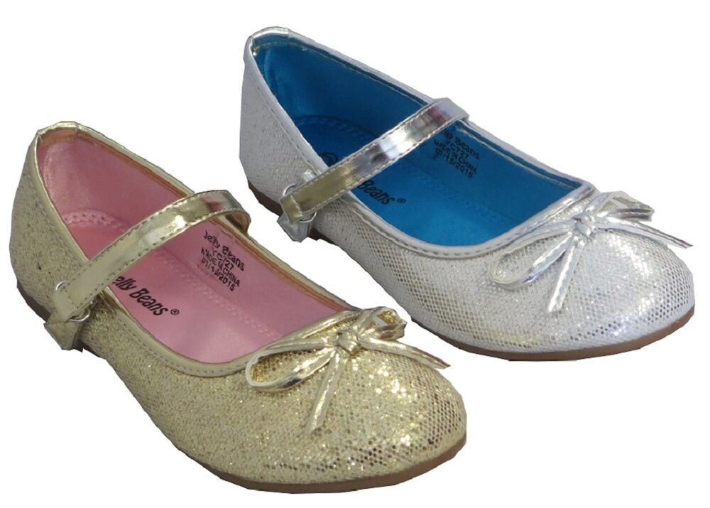 Girl Dress Flats Glitter Mozo Toddler Flower Girls
