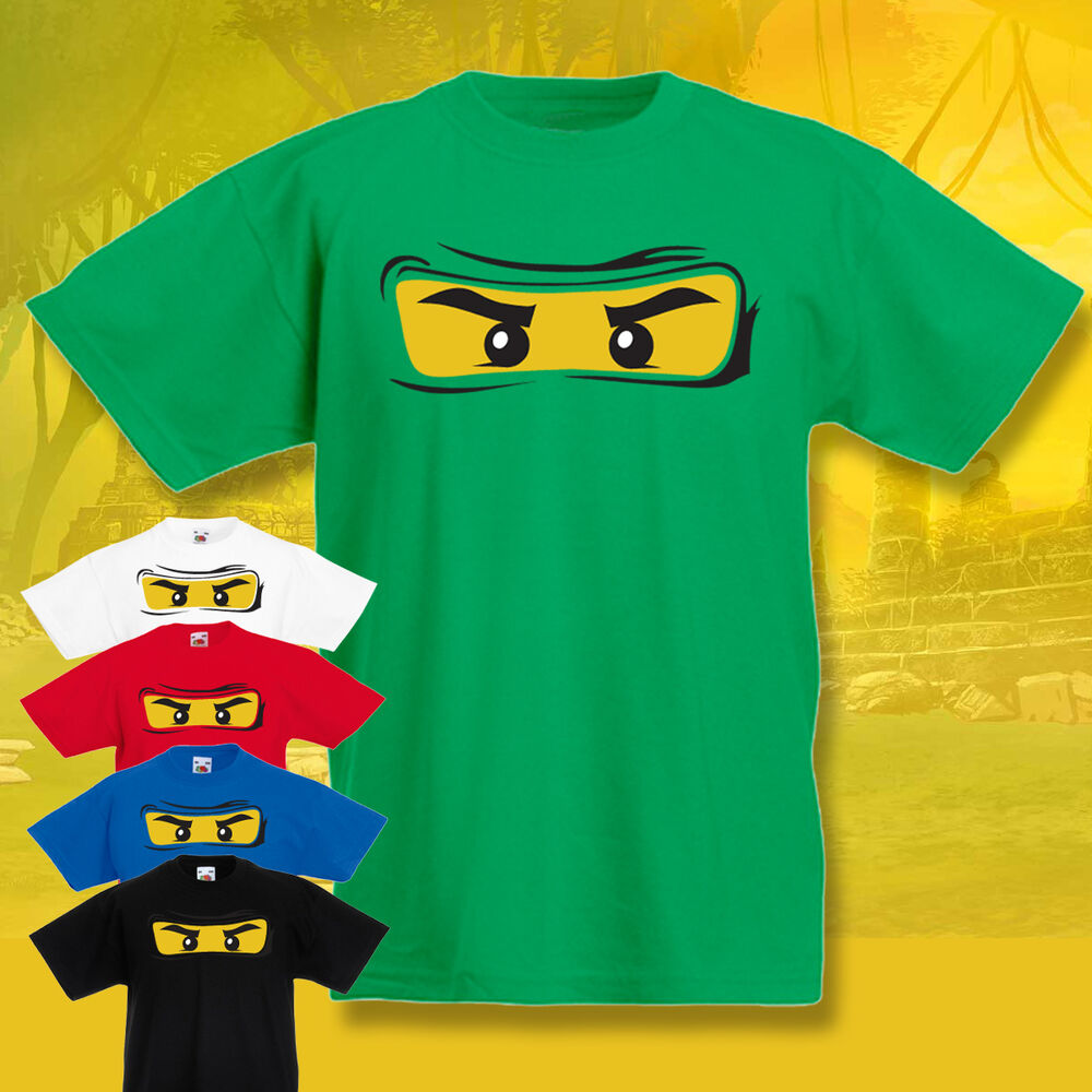 Http Www Edsfashions Co Uk Gift Ideas For Girls Age 10: CHILDRENS Ninjago T-shirt KIDS Tee Funny Cool 3-15