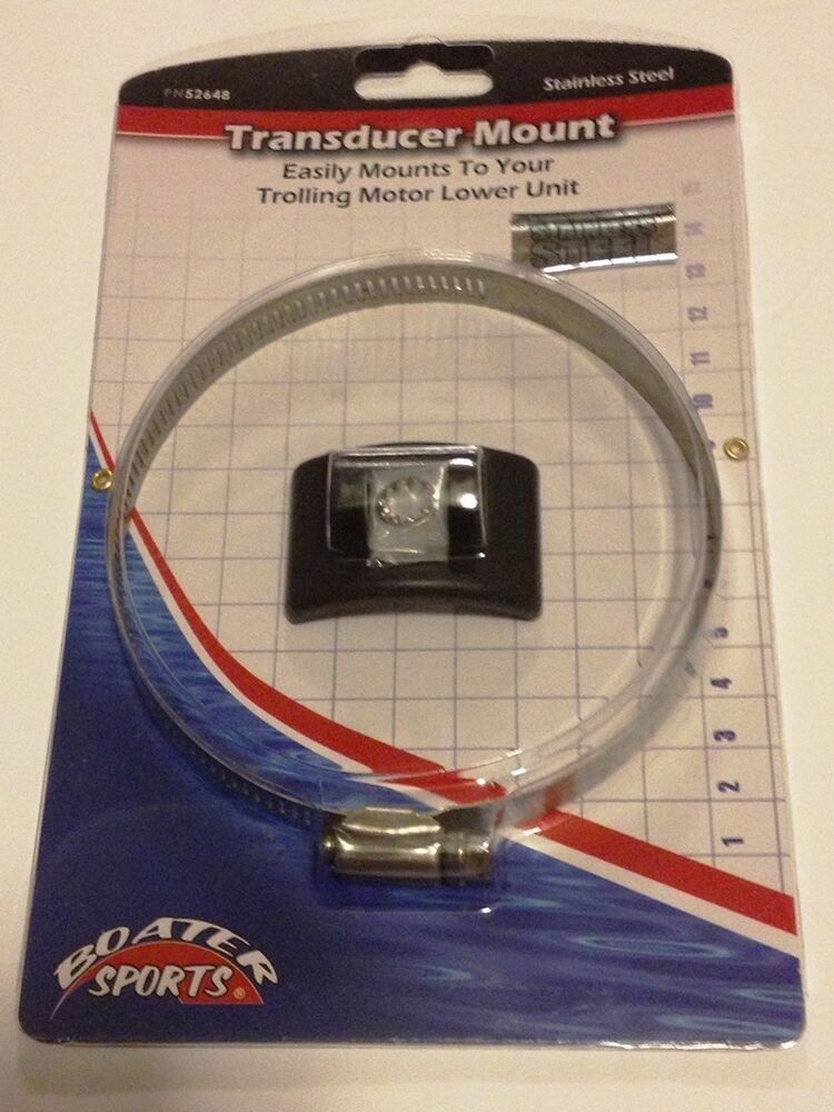 Transducer Trolling Motor Mount Works With Lowrance And