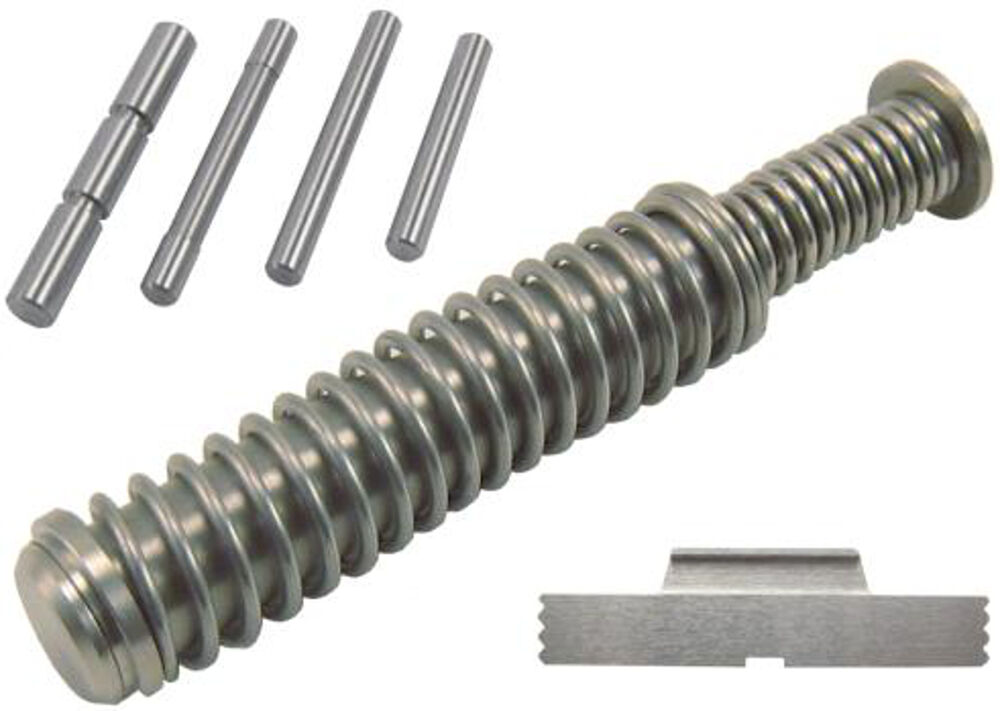 Guide Rod  Extended Slide Release and 4-Pc  Frame Pin Kit for Glock 19