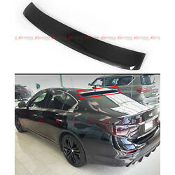 FITS FOR 2014-2021 INFINITI Q50 JDM REAL CARBON FIBER REAR ROOF TOP SPOILER WING