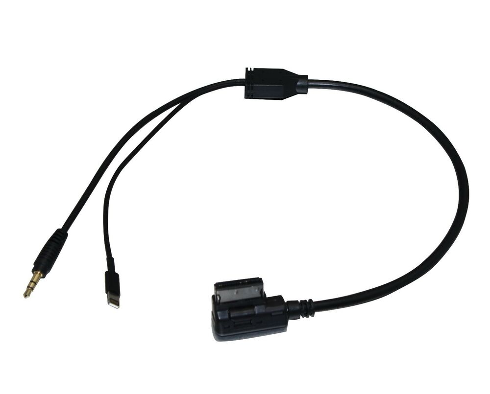 Aps aux media interface cable for mercedes benz with for Aux cable mercedes benz c230