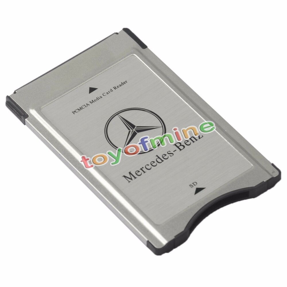 New pcmcia to sd pc card adapter supoort sdhc for mercedes for Pcmcia mercedes benz