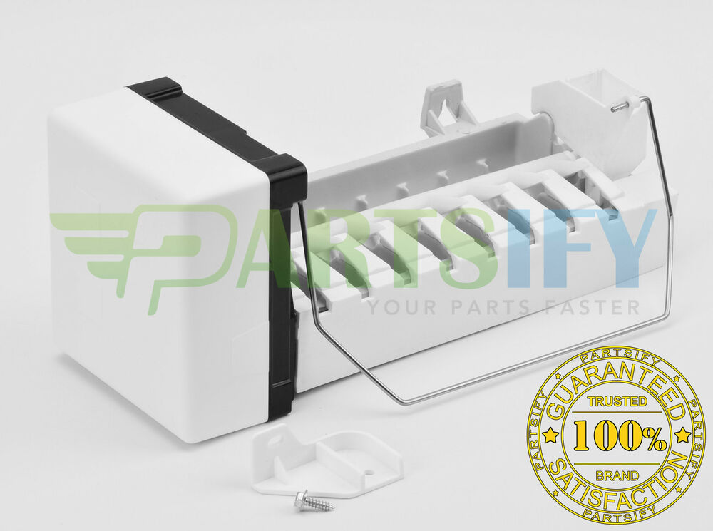 NEW REFRIGERATOR ICE MAKER EXACT FIT FITS YOUR WHIRLPOOL ESTATE (SEE on kenmore ice maker mounting bracket, kenmore coldspot 106 ice maker, kenmore ice maker 4317943, kenmore model 106 ice maker, kenmore ice maker diagram, kenmore ice maker solenoid, kenmore ice maker spring, kenmore replacement ice maker, kenmore ice maker filter, kenmore ice maker troubleshooting,