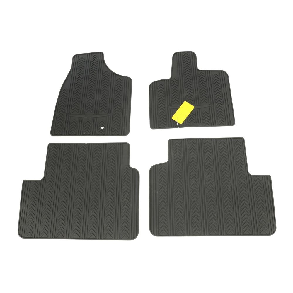 2012 Chrysler Town Amp Country Front Amp Rear Rubber Floor