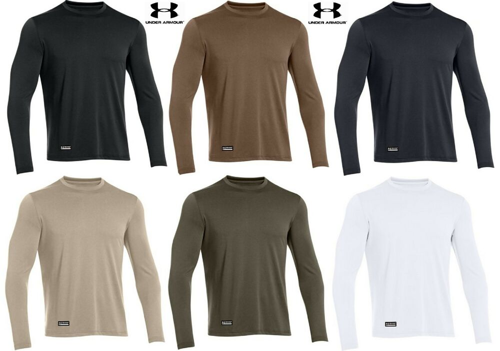 Under armour mens tactical tech long sleeve t shirt ua for Under armor tactical t shirt