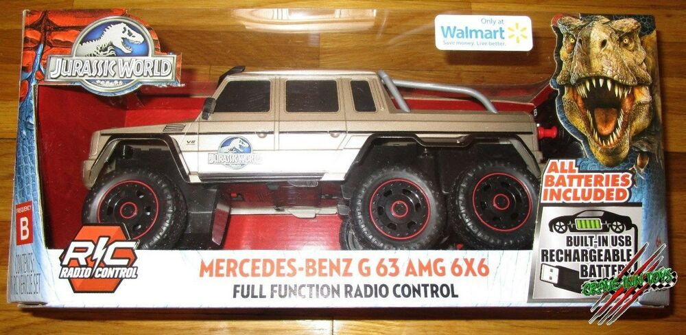 Jurassic World Remote Control Mercedes Benz G 63 Amg 6x6 1