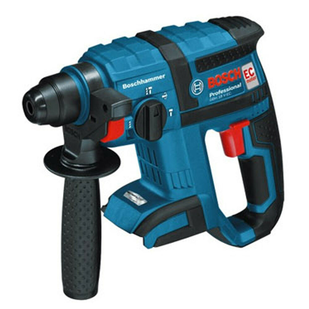 bosch gbh18v ec cordless rotary hammer drill chiseling bare tool only body ebay. Black Bedroom Furniture Sets. Home Design Ideas