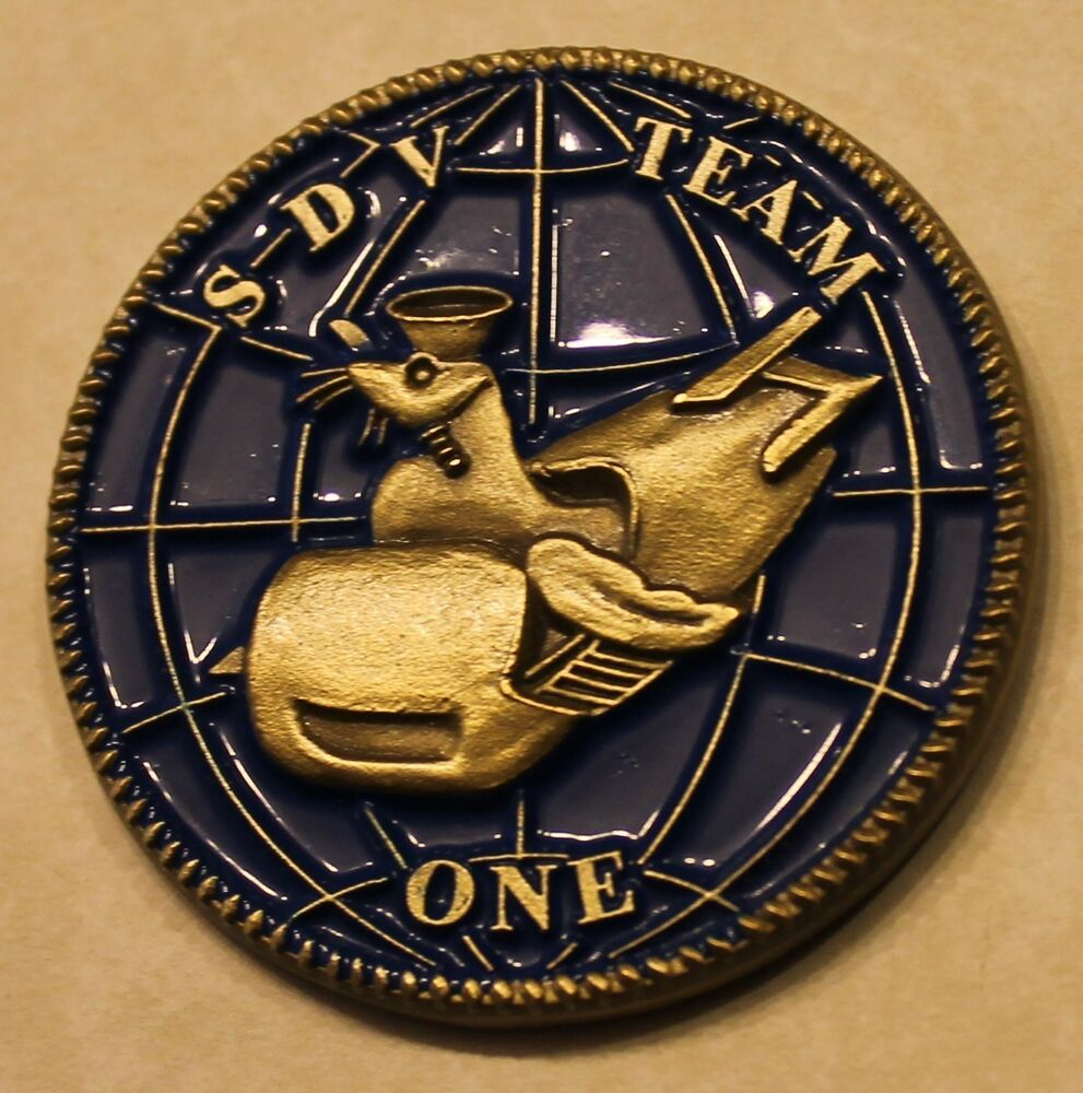 Sub Seal Delivery Vehicle Team One Sdvt 1 Warrior From
