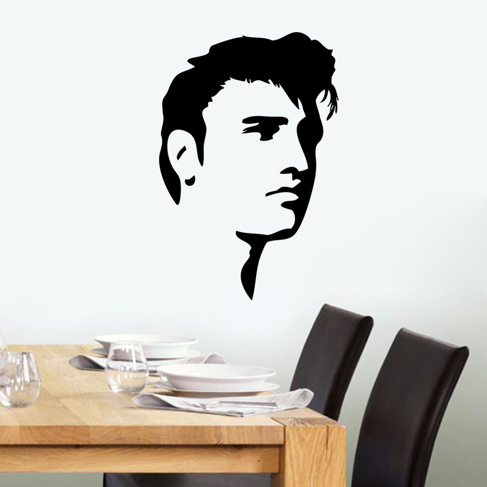 elvis presley elvis face art home decor vinyl wall sticker