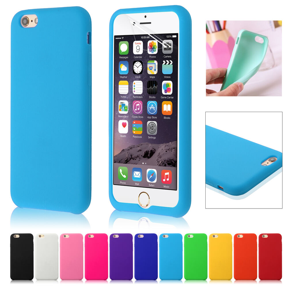 iphone 6 phone covers silicone rubber gel cover skin for iphone 6 4 7 3077