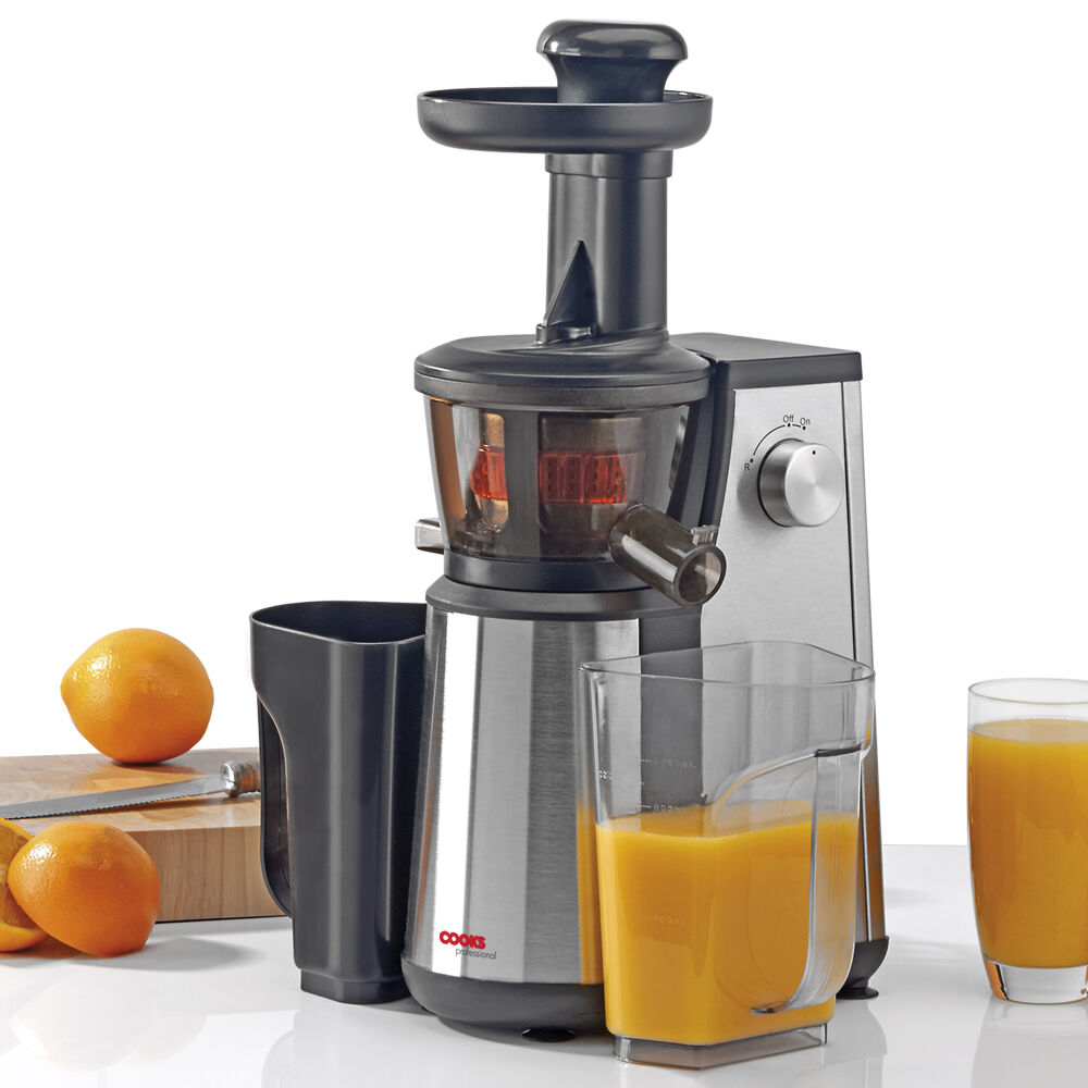 Primada Whole Slow Juicer : 400W Masticating Slow Juicer Pro Whole Fruit vegetable Juice Extractor Press eBay