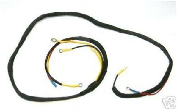 Ford 9n 2n Tractor 6v 6 Volt Generator Wiring Harness
