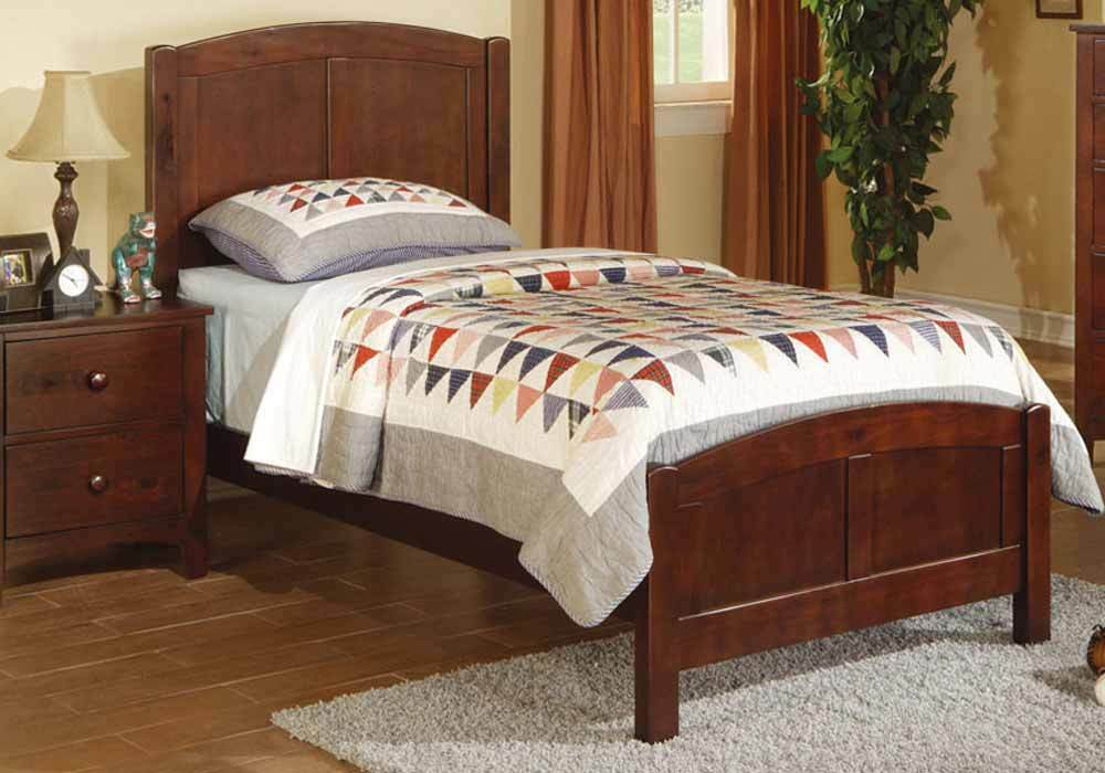 Contemporary Sturdy Youth Kids Bedroom Twin Bed Frame