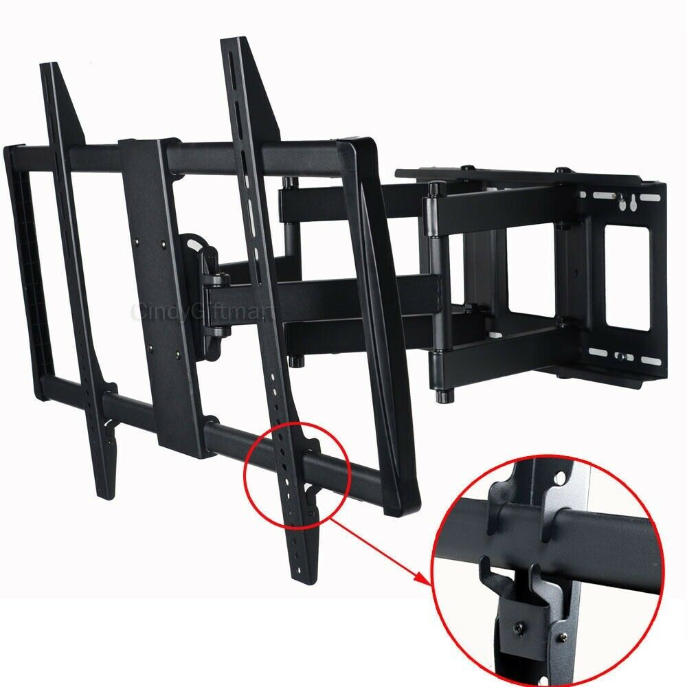 Full Motion Tv Wall Mount For Samsung Lg Vizio 60 65 70 75