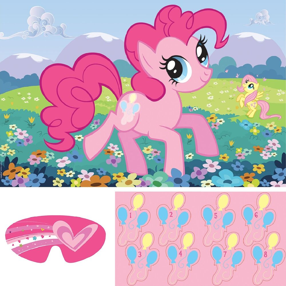 My little pony friendship party game decoration supplies for All decoration games