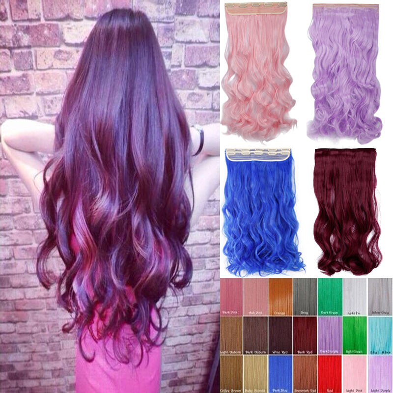 Full Head Clip In Hair Extensions Cheap 4