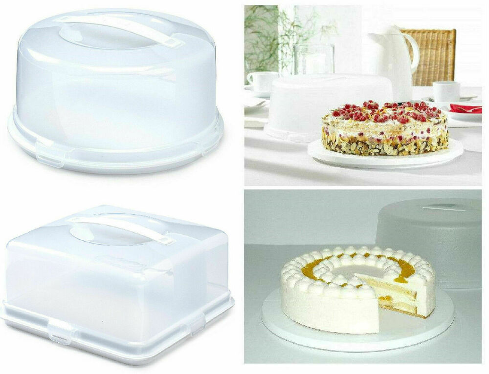 Plastic Cake Containers Uk