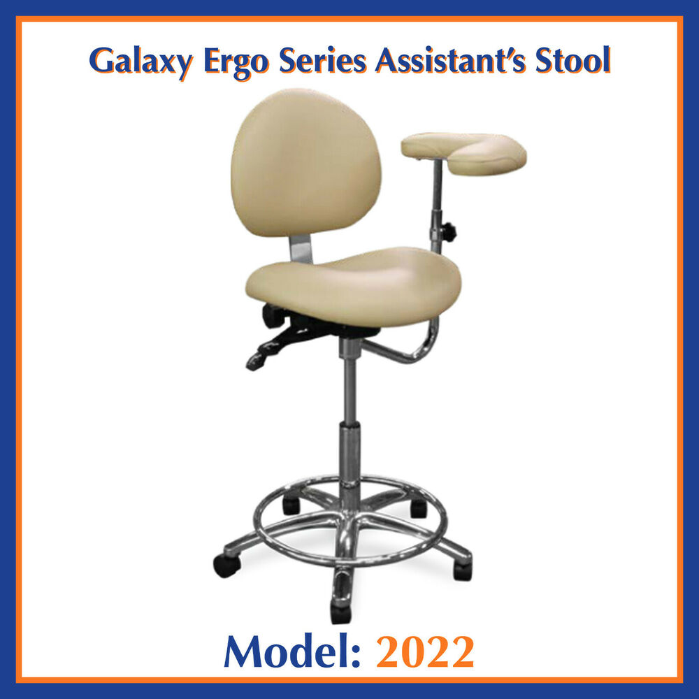 Galaxy 2022 Ergonomic Dental Assistant S Seat W Non
