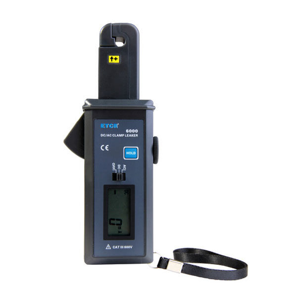 Electrical Leakage Tester : Etcr ac dc electrical leakage tester clamp meter