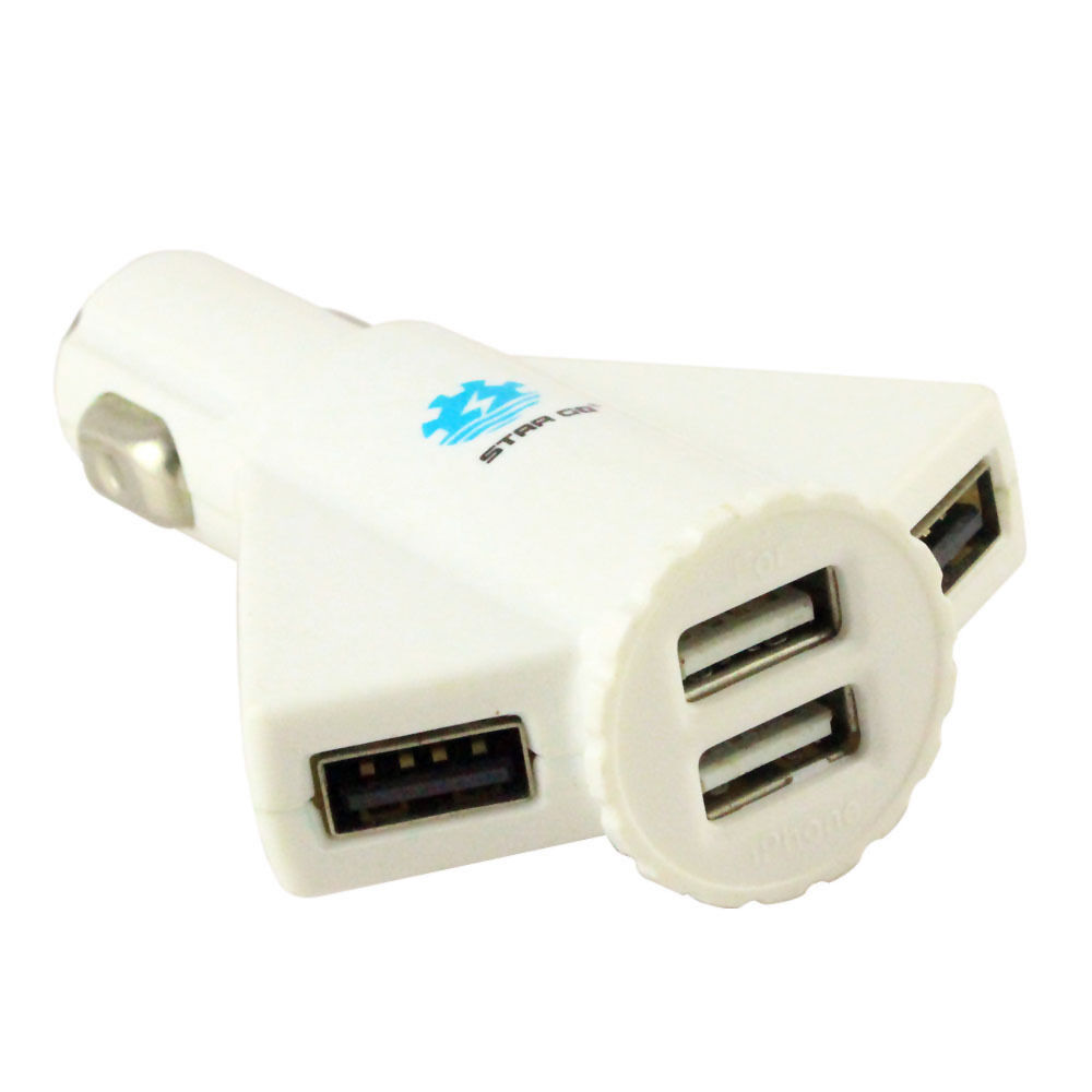 4 usb car auto charger adapter for iphone 6 ipod air nexus. Black Bedroom Furniture Sets. Home Design Ideas