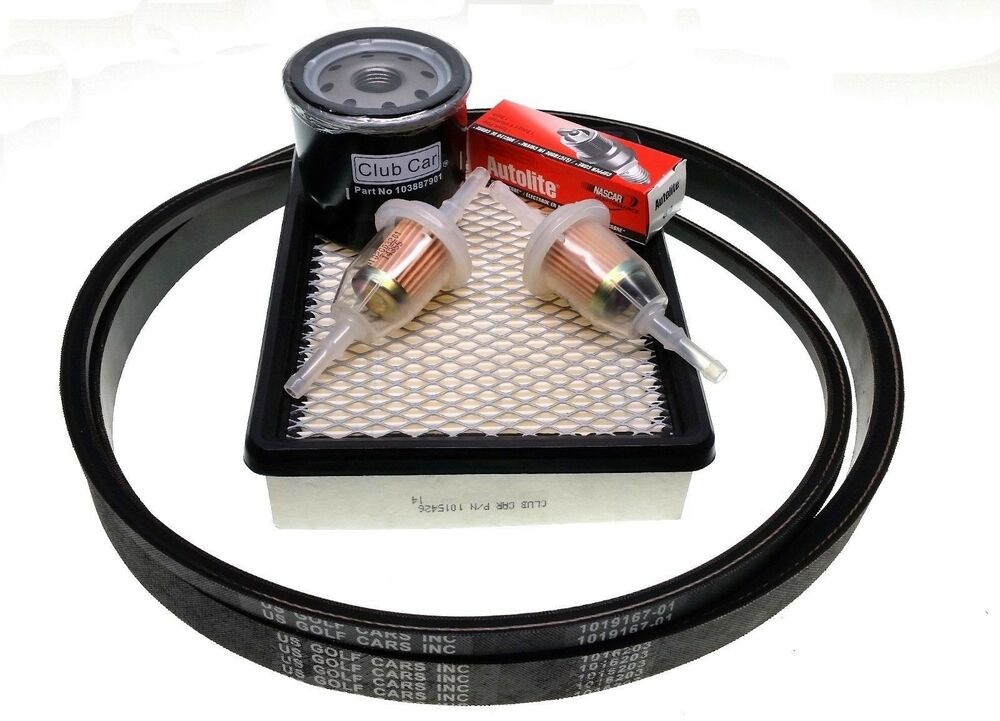 Car Tune Up Parts : Club car golf cart tune up kit with belts ds