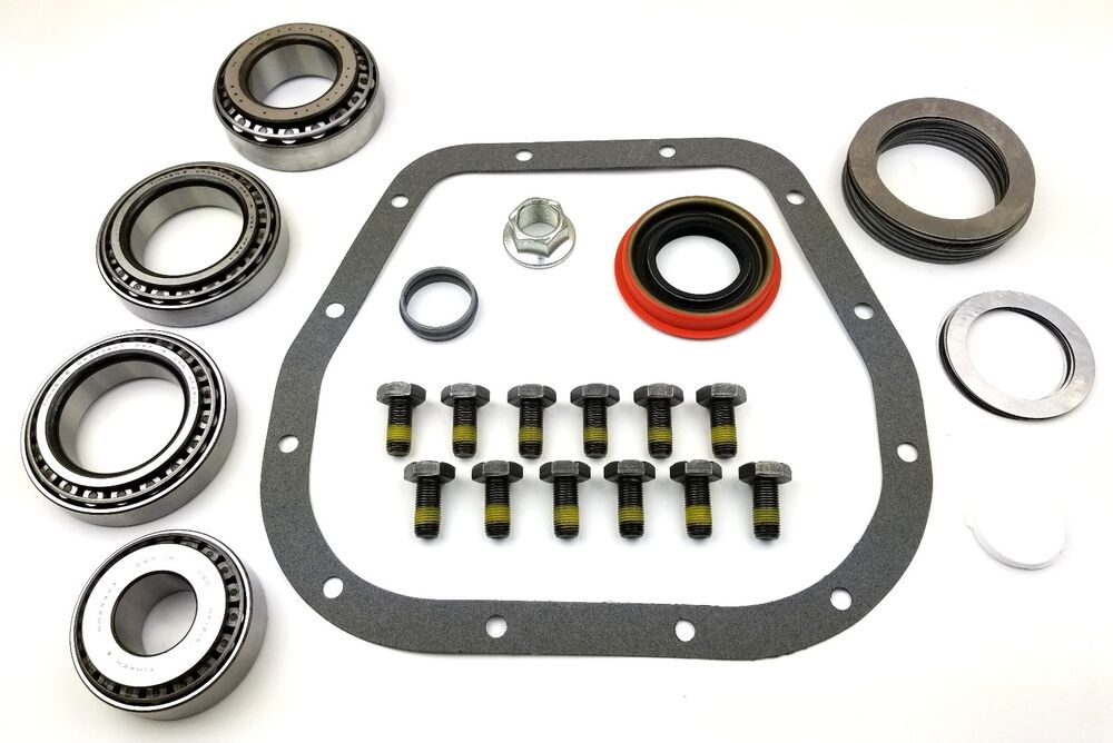 Ford   Ring And Pinion Installation