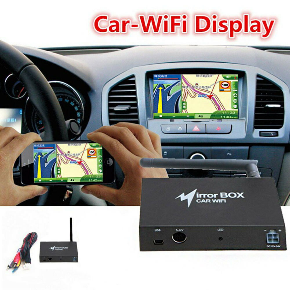 car wifi mirror link box mirror converter for android ios airplay miracast dlna 4651126809921 ebay. Black Bedroom Furniture Sets. Home Design Ideas