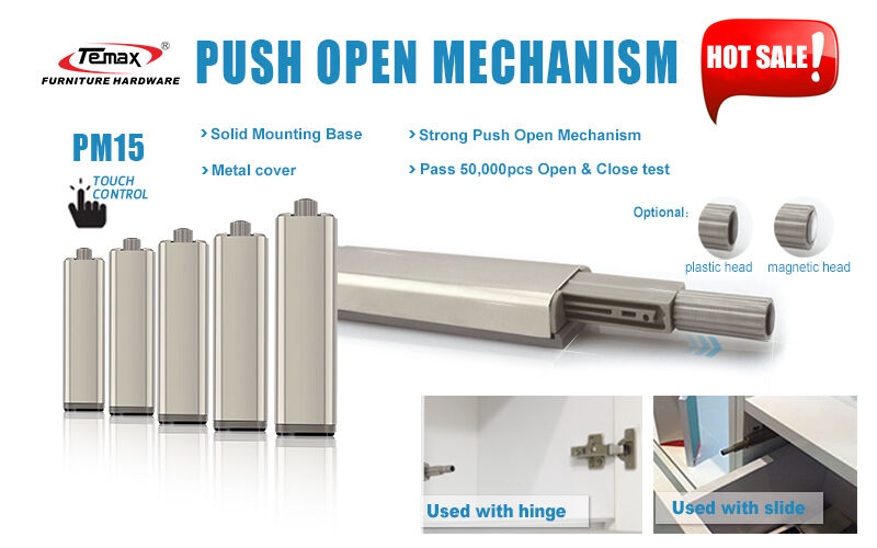 30pcs Push Latch Push Opening System For Doors And Drawers